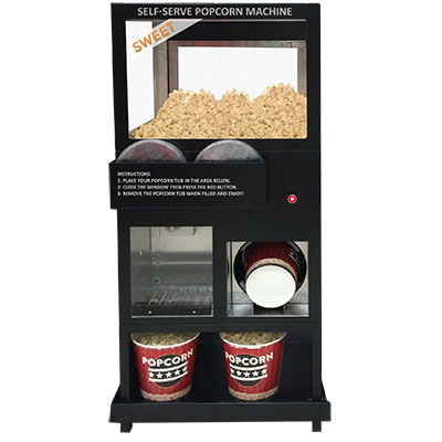 Sephra self serve popcornmachine