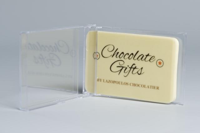 Chocolade visitekaartje