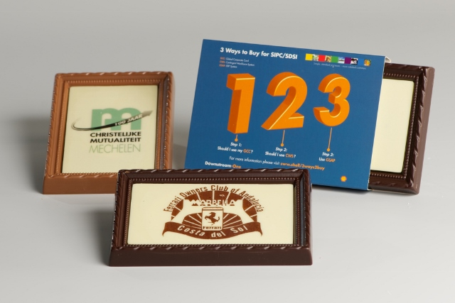 Chocolade fotokader 100g