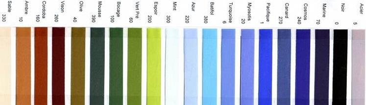 Kleurkaart linten1