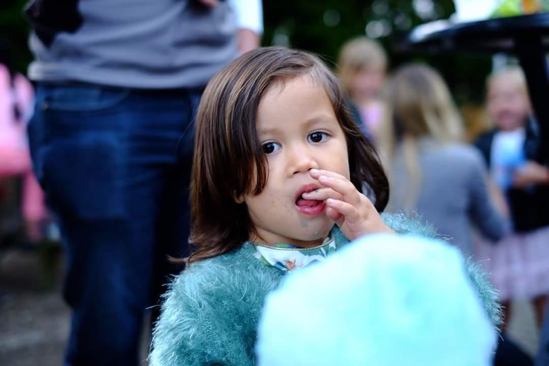Suikerspin kinderen schoolfeest
