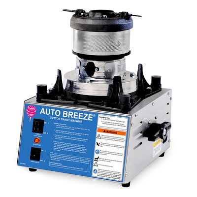 Suikerspinmachine gold medal auto breeze