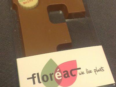 Floreac chocolade letter