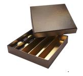 Luxedoos pralines deksel bronze
